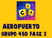 Aeropuerto Grupo 450 Rompecabezas 3 Imagen