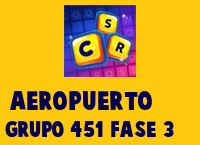 Aeropuerto Grupo 451 Rompecabezas 3 Imagen
