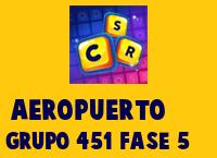 Aeropuerto Grupo 451 Rompecabezas 5 Imagen