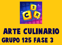Arte Culinario Grupo 125 Rompecabezas 3 Imagen