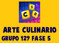Arte Culinario Grupo 129 Rompecabezas 5 Imagen