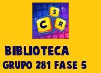 Biblioteca Grupo 281 Rompecabezas 5 Imagen