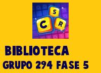 Biblioteca Grupo 294 Rompecabezas 5 Imagen