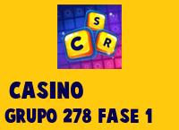 Casino Grupo 278 Rompecabezas 1 Imagen