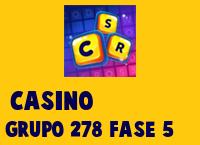 Casino Grupo 278 Rompecabezas 5 Imagen