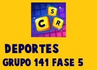 Deportes Grupo 141 Rompecabezas 5 Imagen