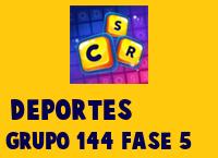 Deportes Grupo 144 Rompecabezas 5 Imagen