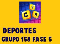 Deportes Grupo 158 Rompecabezas 5 Imagen