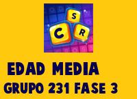 Edad Media Grupo 231 Rompecabezas 3 Imagen