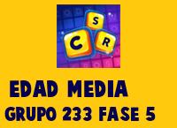 Edad Media Grupo 233 Rompecabezas 5 Imagen