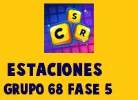 Estaciones Grupo 68 Rompecabezas 5 Imagen