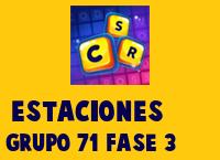 Estaciones Grupo 71 Rompecabezas 3 Imagen