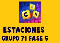 Estaciones Grupo 71 Rompecabezas 5 Imagen