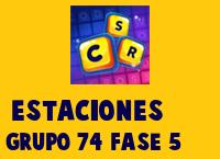 Estaciones Grupo 74 Rompecabezas 5 Imagen