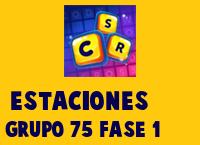 Estaciones Grupo 75 Rompecabezas 1 Imagen
