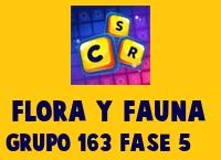 Flora y Fauna Grupo 163 Rompecabezas 5 Imagen