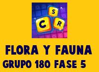 Flora y Fauna Grupo 180 Rompecabezas 5 Imagen