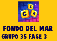 Fondo del Mar Grupo 35 Rompecabezas 3 Imagen