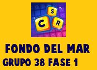 Fondo del Mar Grupo 38 Rompecabezas 1 Imagen