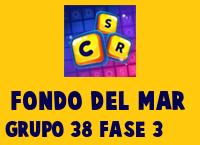 Fondo del Mar Grupo 38 Rompecabezas 3 Imagen
