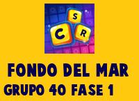 Fondo del Mar Grupo 40 Rompecabezas 1 Imagen