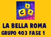 La Bella Roma Grupo 403 Rompecabezas 1 Imagen
