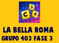 La Bella Roma Grupo 403 Rompecabezas 3 Imagen