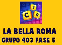 La Bella Roma Grupo 403 Rompecabezas 5 Imagen