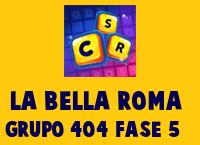 La Bella Roma Grupo 404 Rompecabezas 5 Imagen