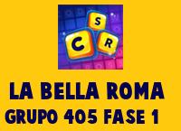 La Bella Roma Grupo 405 Rompecabezas 1 Imagen