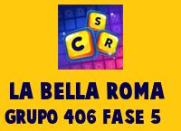 La Bella Roma Grupo 406 Rompecabezas 5 Imagen