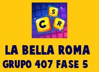 La Bella Roma Grupo 407 Rompecabezas 5 Imagen