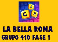 La Bella Roma Grupo 410 Rompecabezas 1 Imagen
