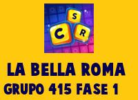 La Bella Roma Grupo 415 Rompecabezas 1 Imagen