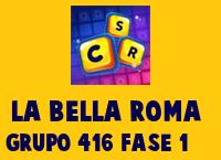 La Bella Roma Grupo 416 Rompecabezas 1 Imagen