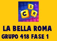 La Bella Roma Grupo 418 Rompecabezas 1 Imagen