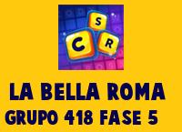 La Bella Roma Grupo 418 Rompecabezas 5 Imagen