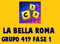 La Bella Roma Grupo 419 Rompecabezas 1 Imagen