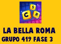 La Bella Roma Grupo 419 Rompecabezas 3 Imagen