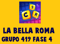 La Bella Roma Grupo 419 Rompecabezas 4 Imagen