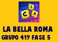 La Bella Roma Grupo 419 Rompecabezas 5 Imagen