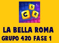 La Bella Roma Grupo 420 Rompecabezas 1 Imagen