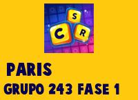 Paris Grupo 243 Rompecabezas 1 Imagen