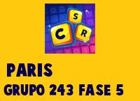 Paris Grupo 243 Rompecabezas 5 Imagen