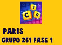Paris Grupo 251 Rompecabezas 1 Imagen