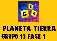 Planeta Tierra Grupo 13 Rompecabezas 1 Imagen
