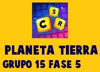Planeta Tierra Grupo 15 Rompecabezas 5 Imagen