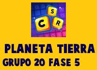 Planeta Tierra Grupo 20 Rompecabezas 5 Imagen