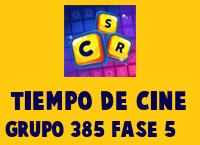 Tiempo de cine Grupo 385 Rompecabezas 5 Imagen