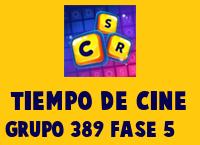 Tiempo de cine Grupo 389 Rompecabezas 5 Imagen